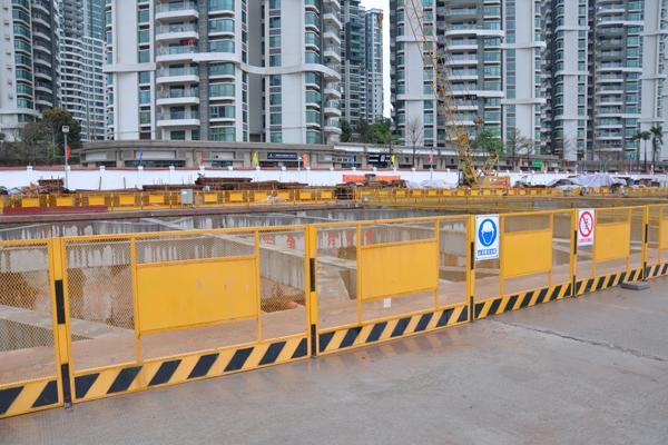 地铁隧道施工临边护栏