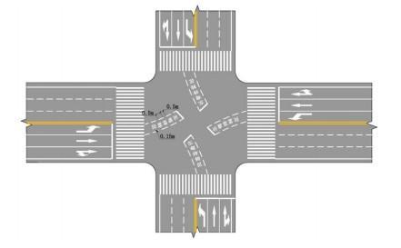 道路标线图