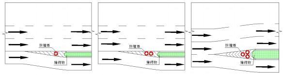 防撞墩设置示意图