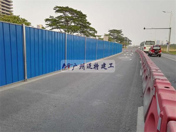 潭洲大桥维固工程施工围蔽