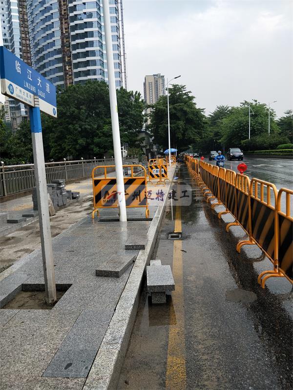 临江大道升级改造