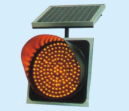 太阳能LED黄闪灯