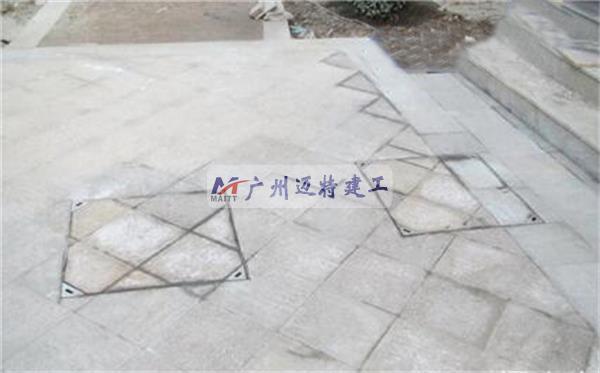 市政装饰井盖铺装完成