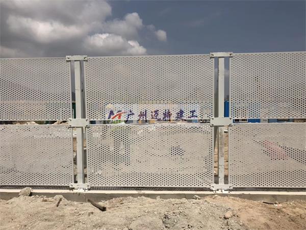 广州围蔽施工现场